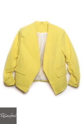 http://www.relaxfeel.com/en/sleeve-yellow-blazer.html