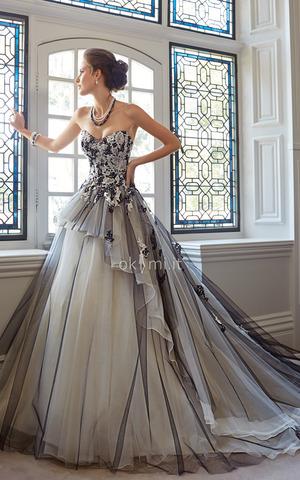 9cf0-mb75-abiti-da-sposa-puffy-esclusivo-formale-vintage-strano