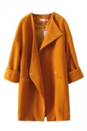http://www.pinkqueen.com/Yellow-Pretty-Womens-Turndown-Collar-Wool-Over-Coat-g33572